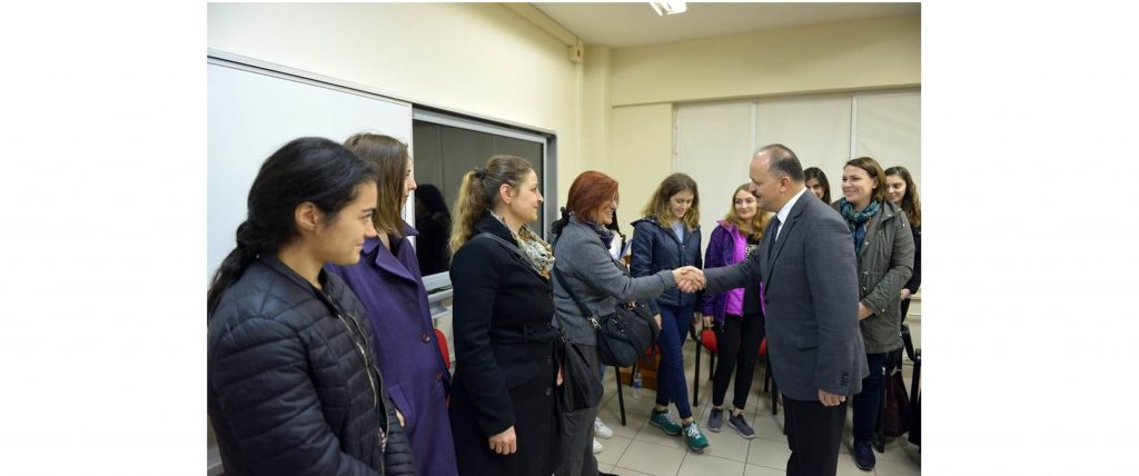 """Maltepe Governor Mr. Dallı Paid Visit to Project """"Students From Secondary School to University All in Together"""""""