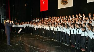 International Children's Choir of Maltepe District Governorship Performs its First Concert